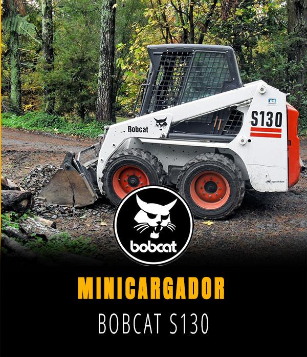 Minicargador Bobcat S 130