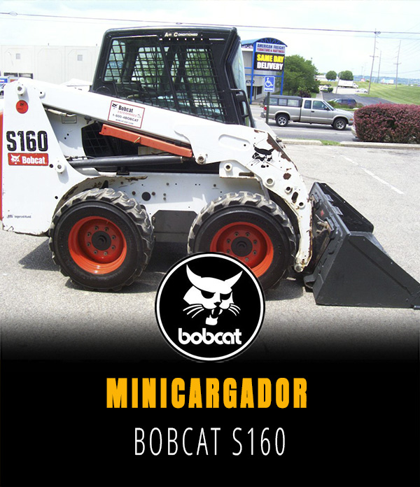 Minicargador Bobcat S 160