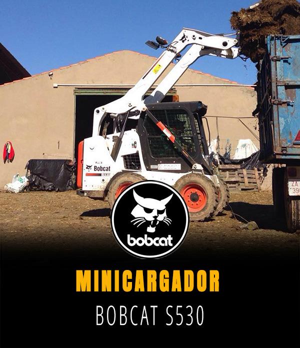 Minicargador Bobcat S 530